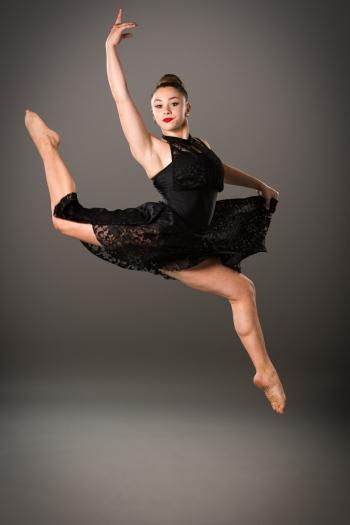 Emily - black Dress