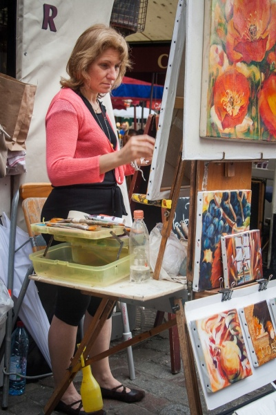 69.Montmartre-Artist