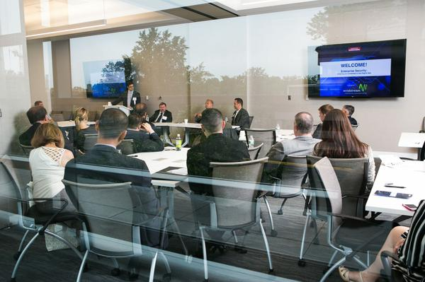Washington Business Journal corporate event at Convene in Northern Virginia