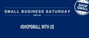Small Business Saturday 2015 Sale!!