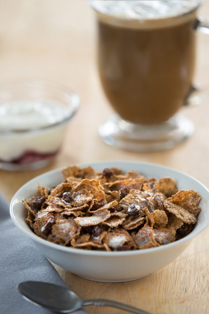 Breakfast Cereal, Latte & Yogurt