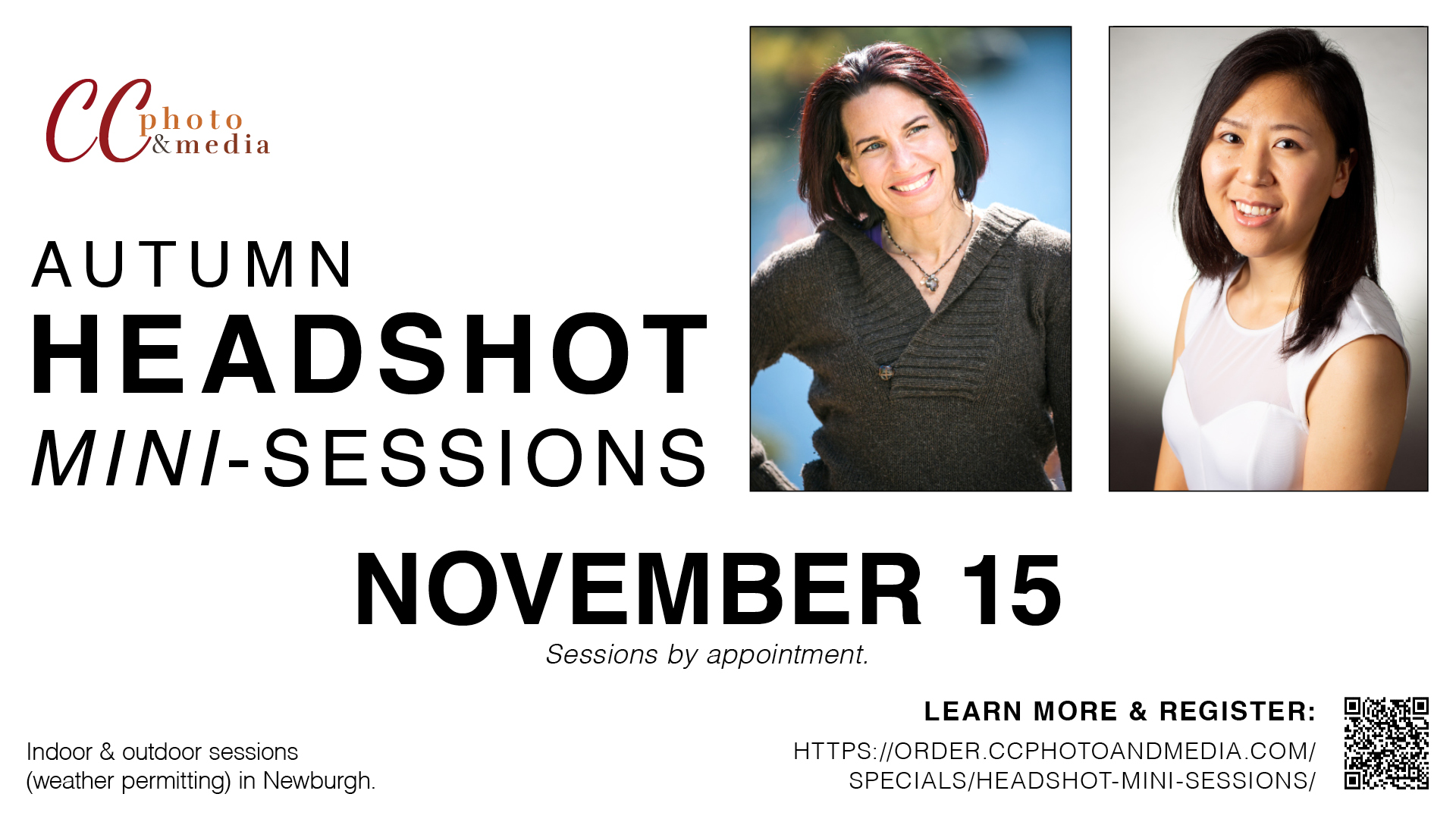 Headshot Mini-Sessions!
