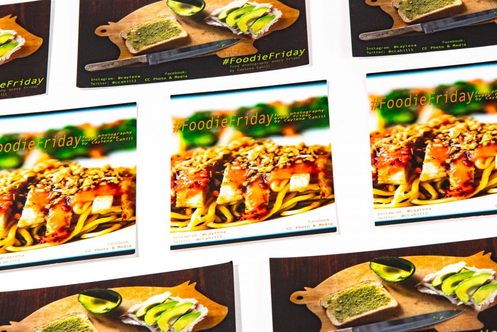 ccpm foodie friday cards design